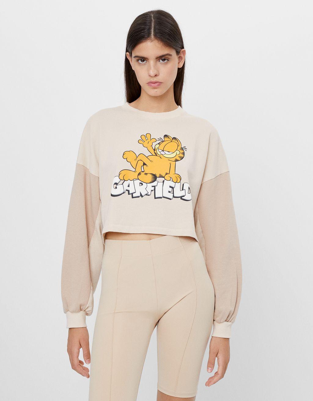 Garfield & Bershka sweatshirt