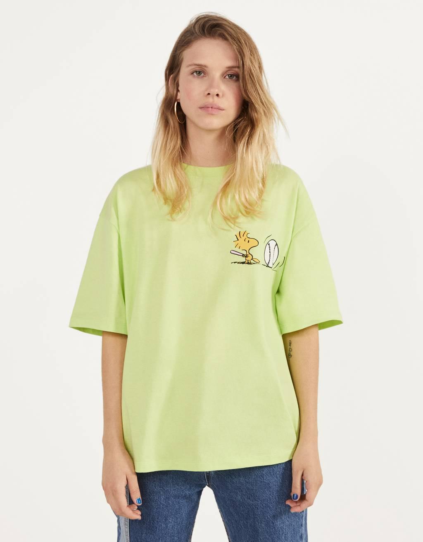 スヌーピー オーバーサイズTシャツ