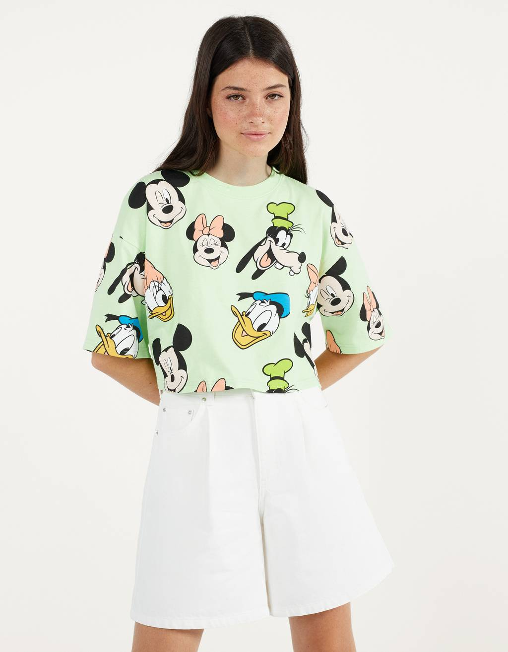 Cropped Disney t-shirt