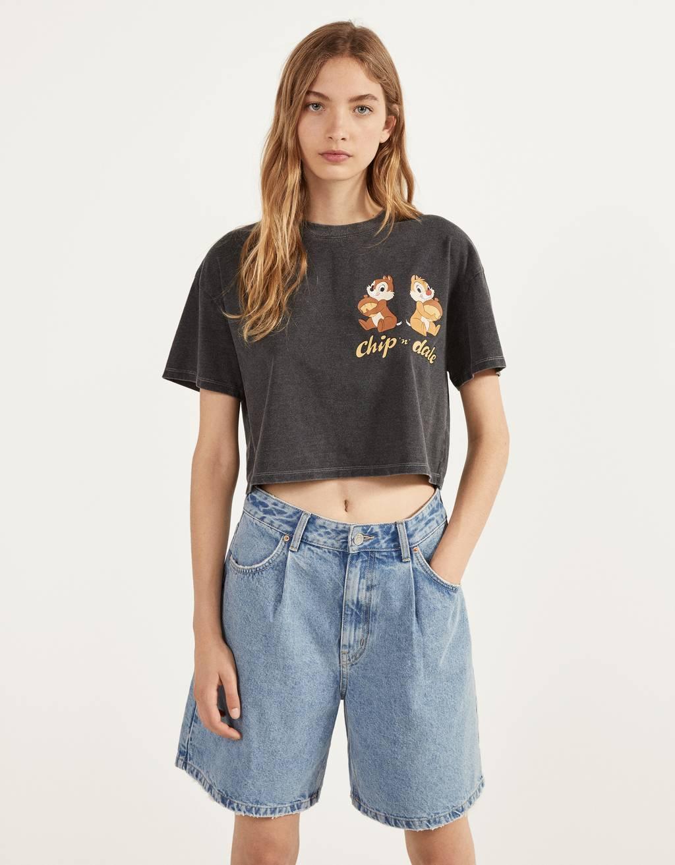 チップとデールTシャツ
