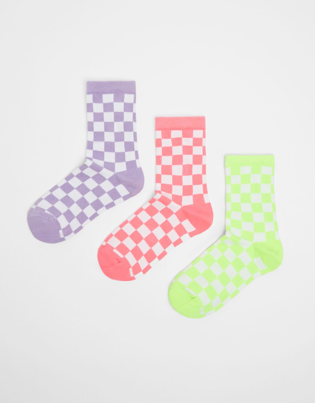 Pack of checked socks