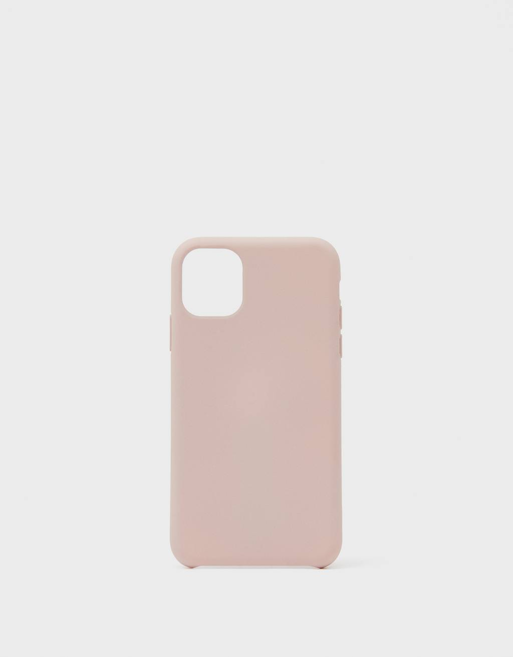 Coque unie iPhone 11 plus