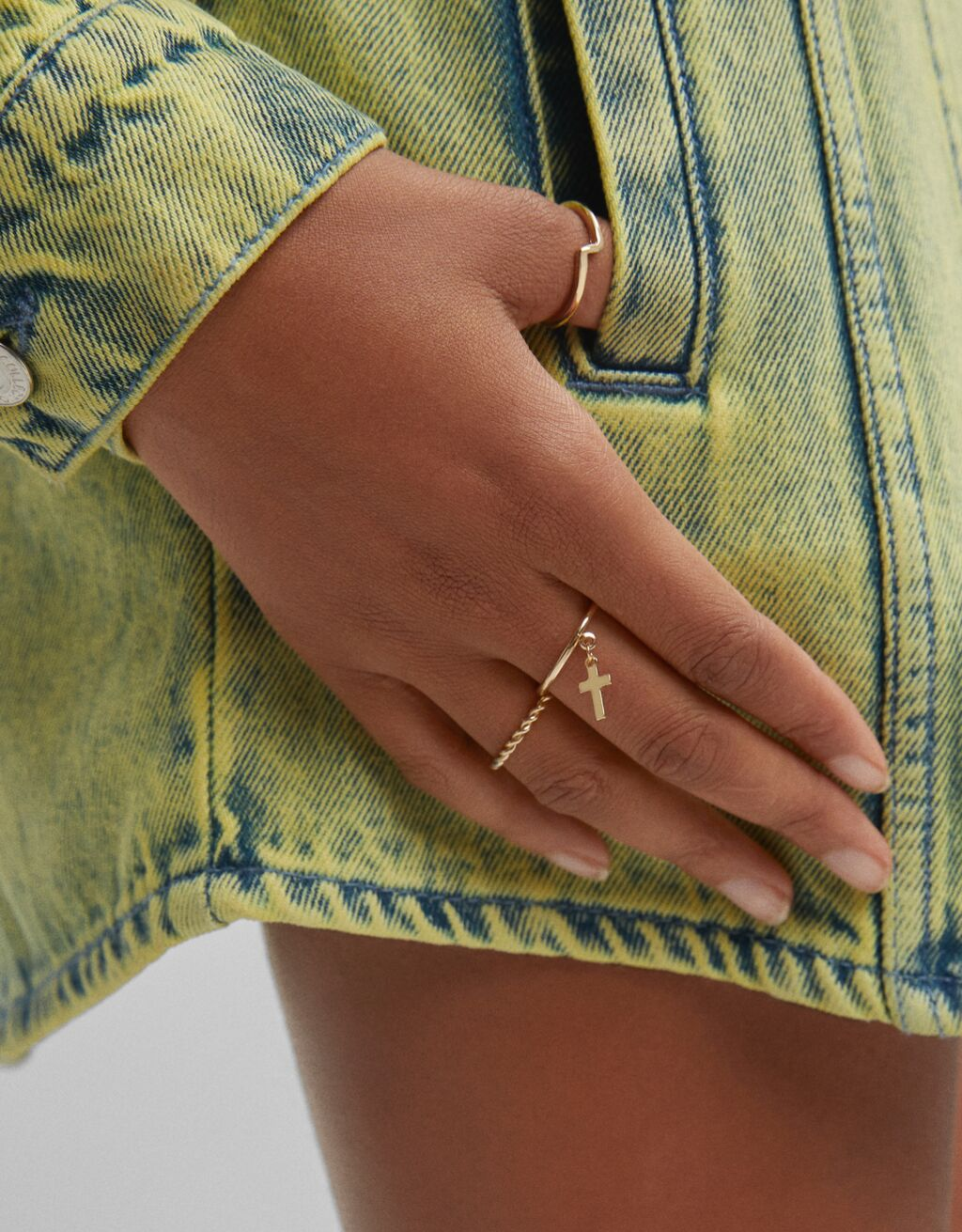 Set of braided rings