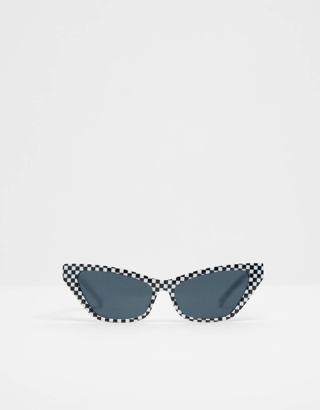 Checked sunglasses