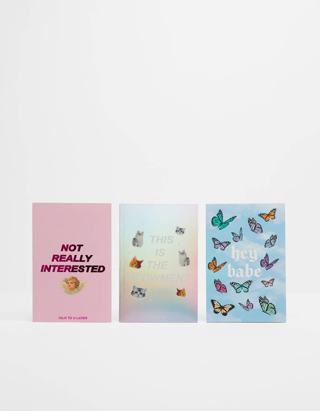Pack of pastel notebooks