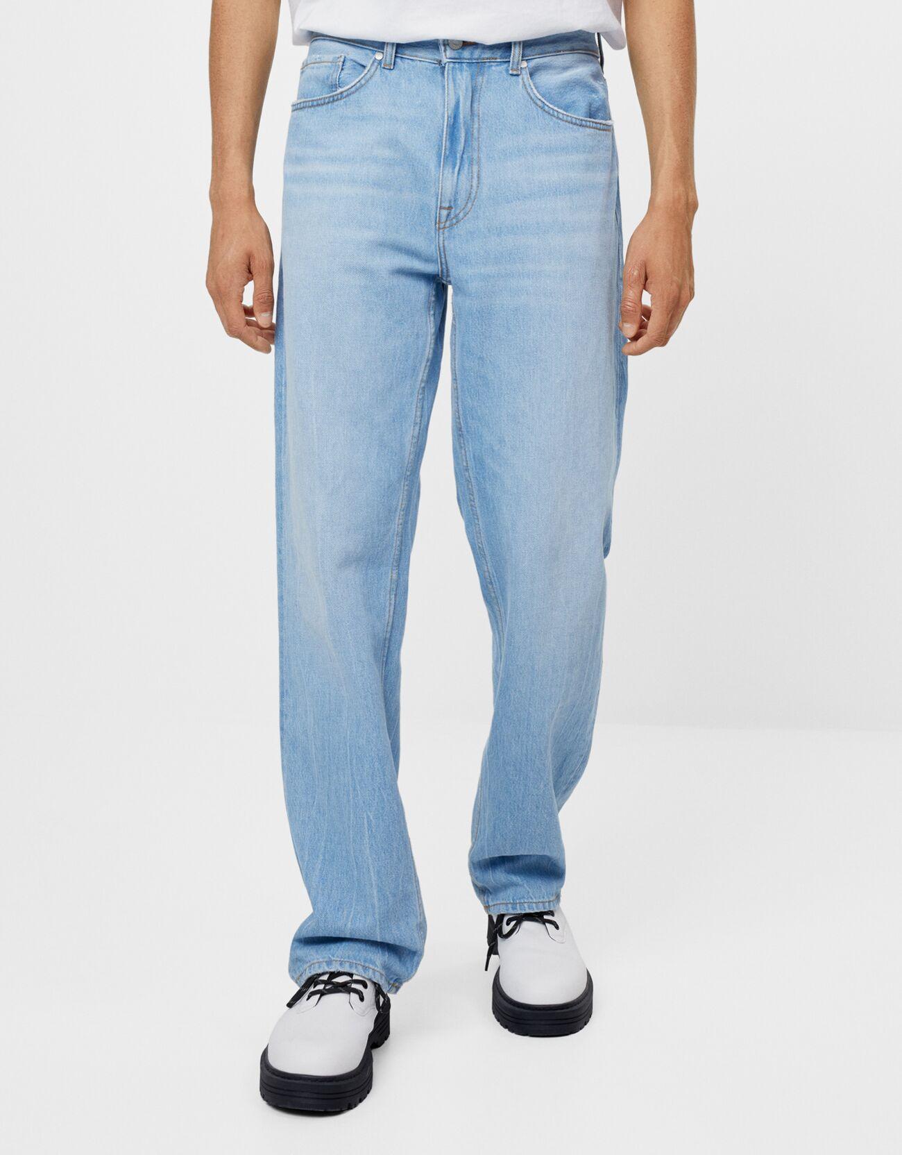90s straight-leg jeans