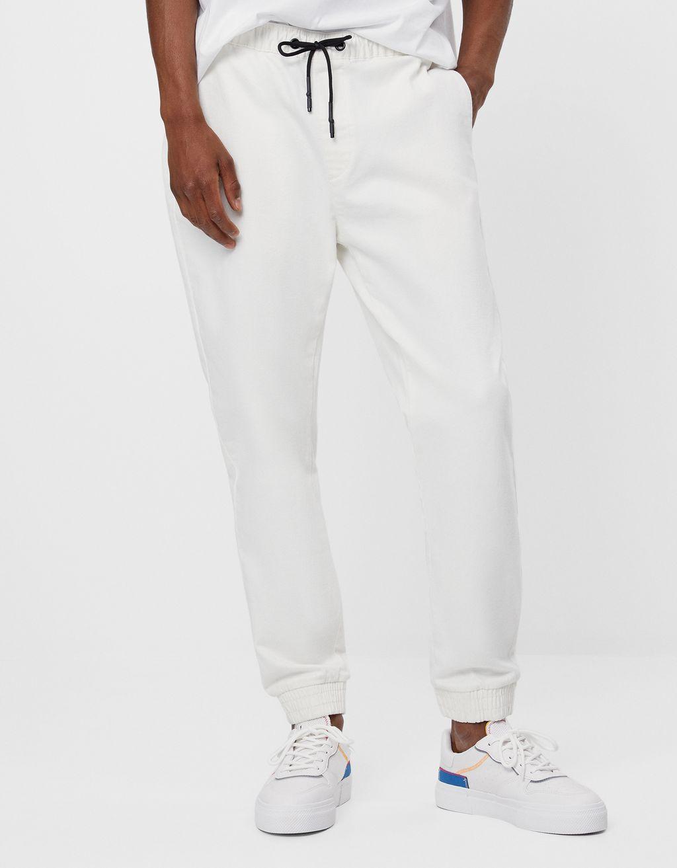Slim fit joggingbroek