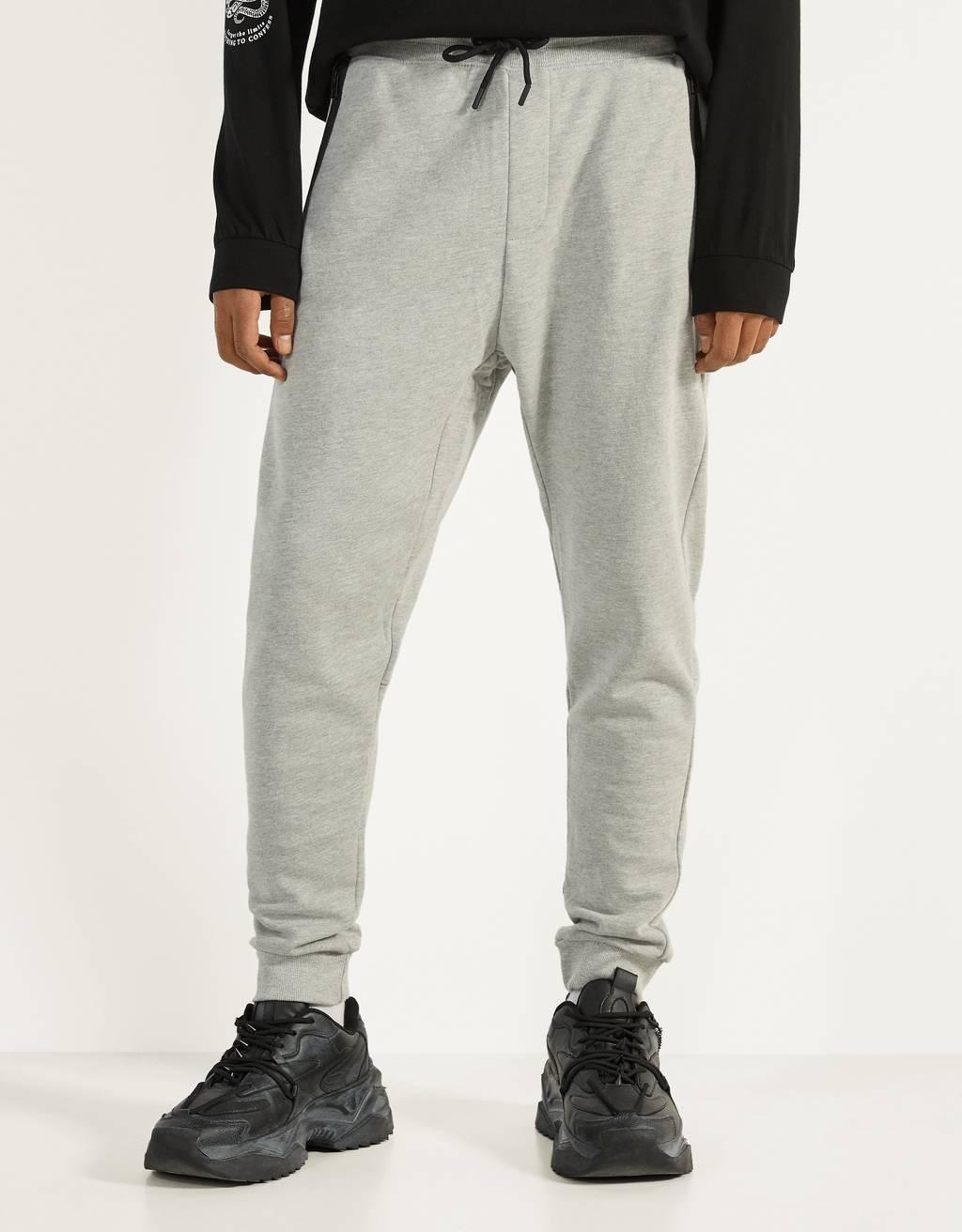 Pantalón jogger de felpa