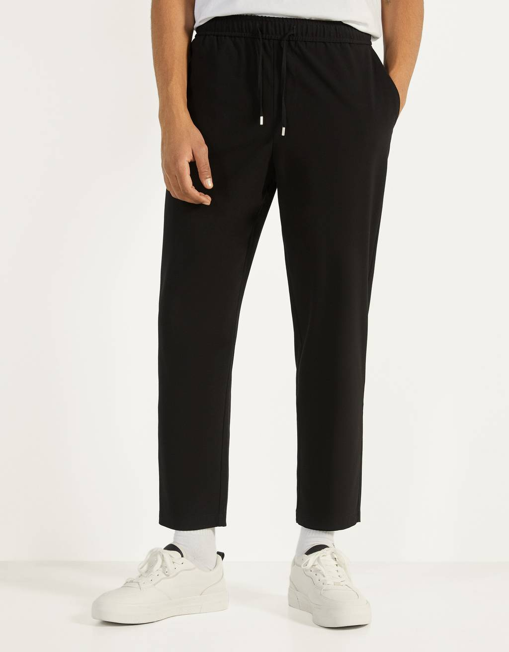 Calças jogger tailored fit