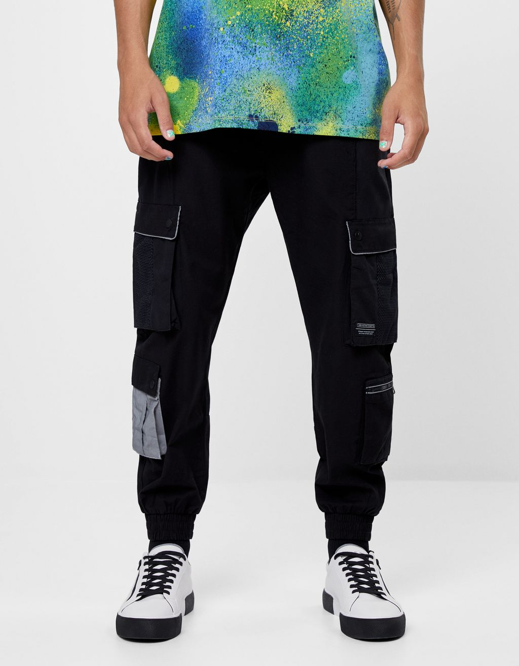 FUTURE-READY cargo trousers