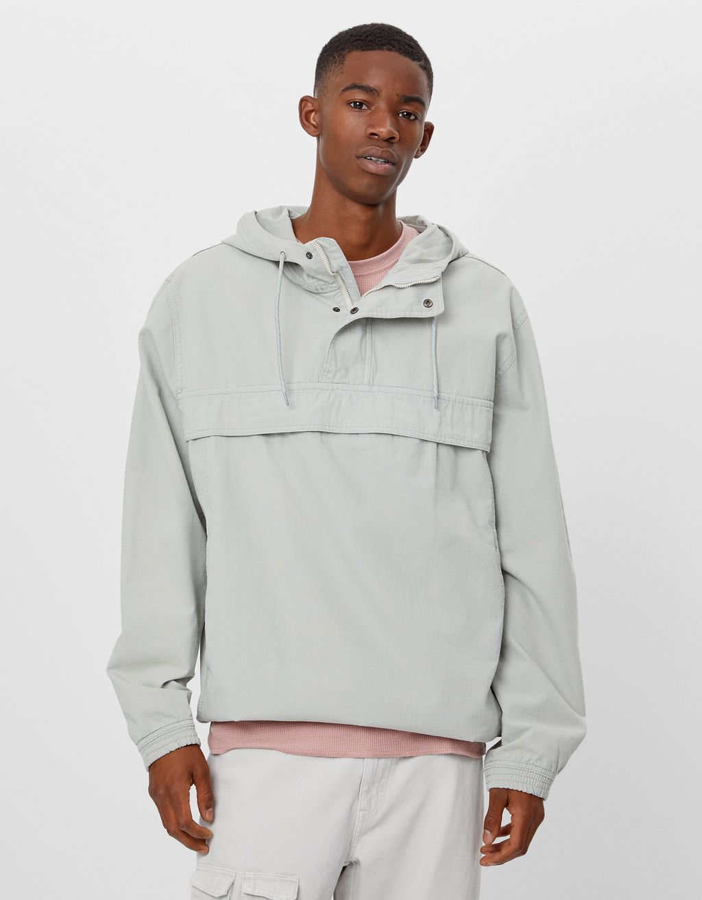 Cotton anorak jacket
