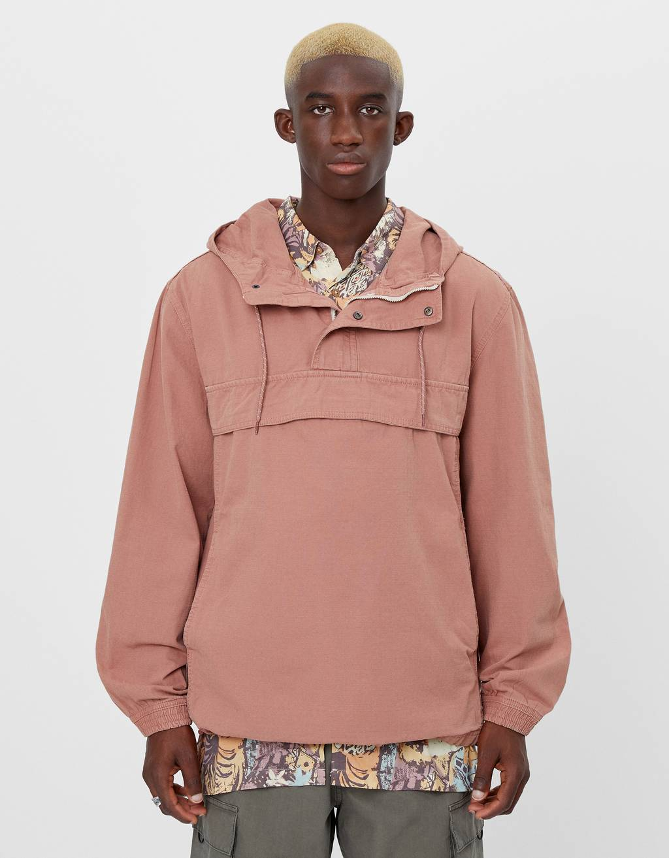 Cotton anorak jacket