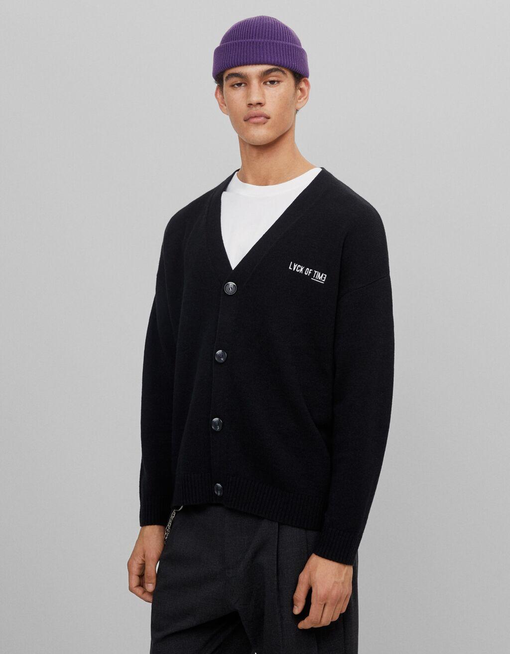 Knit cardigan - Sweatshirts and sweaters - Man