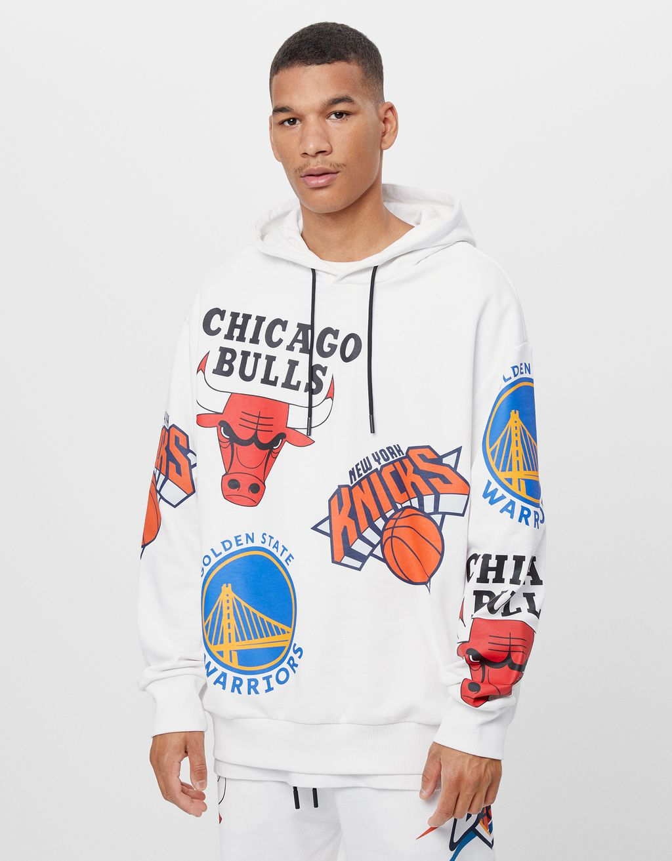 Džemperis ar kapuci 'NBA'