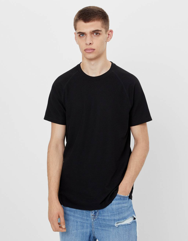 T-shirt gaufré