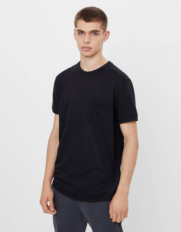 T-shirt à manches courtes avec poche
