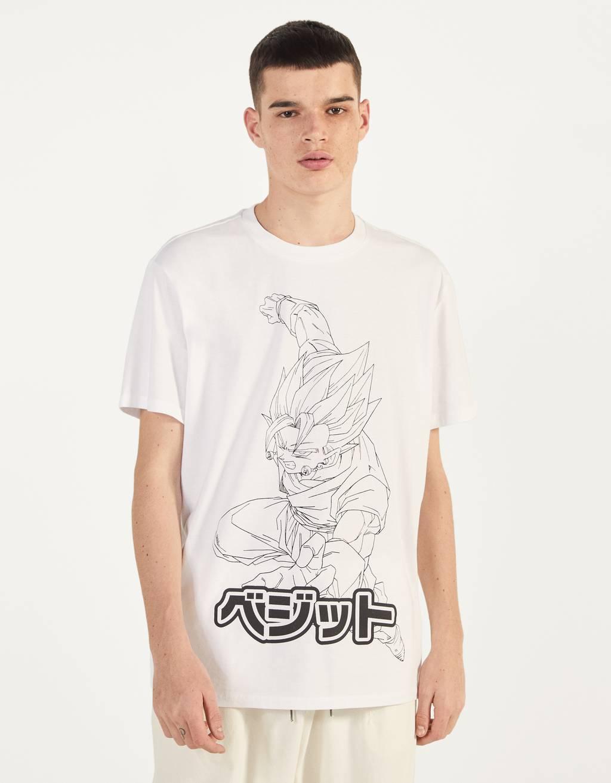 T-Shirt Dragon Ball Z x Bershka