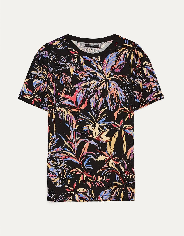 Printed short sleeve T-shirt - Sale Favourites - Man