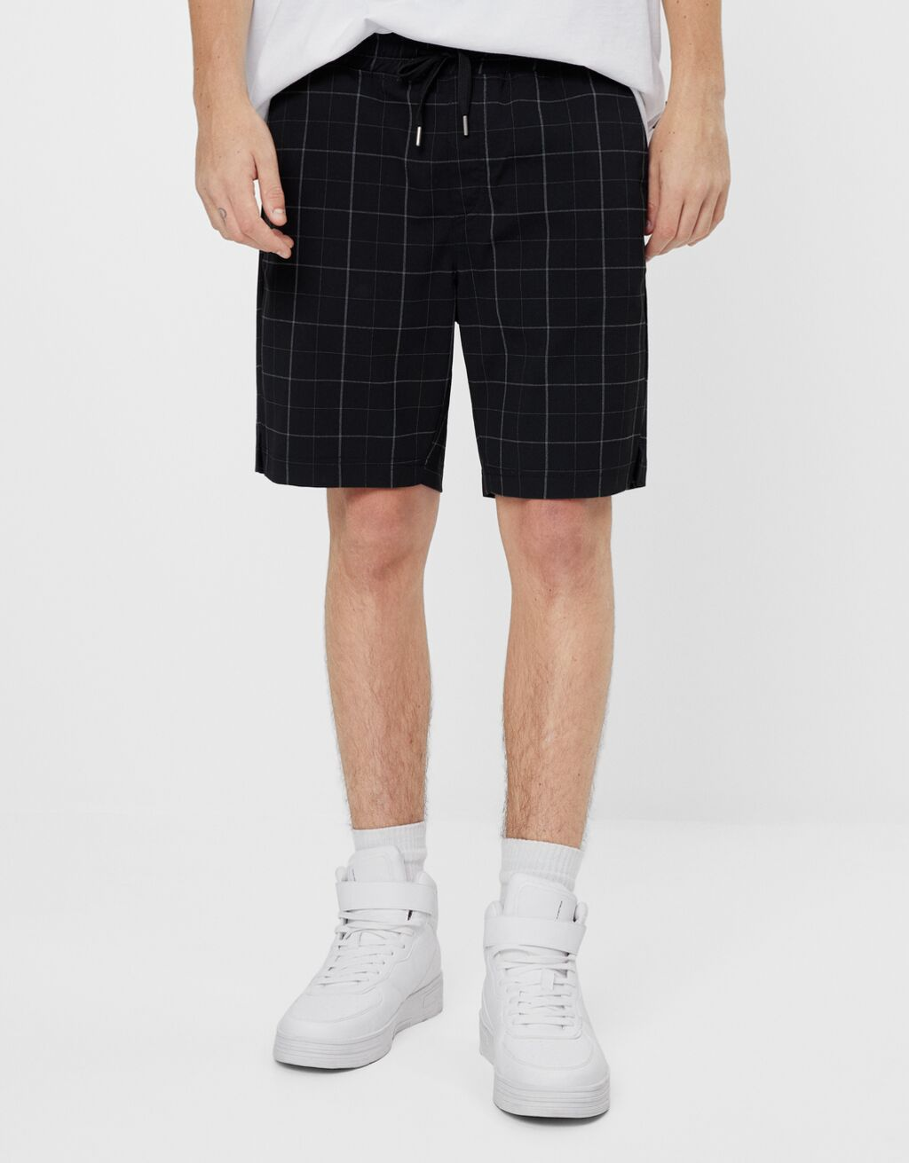 Bermuda jogging shorts