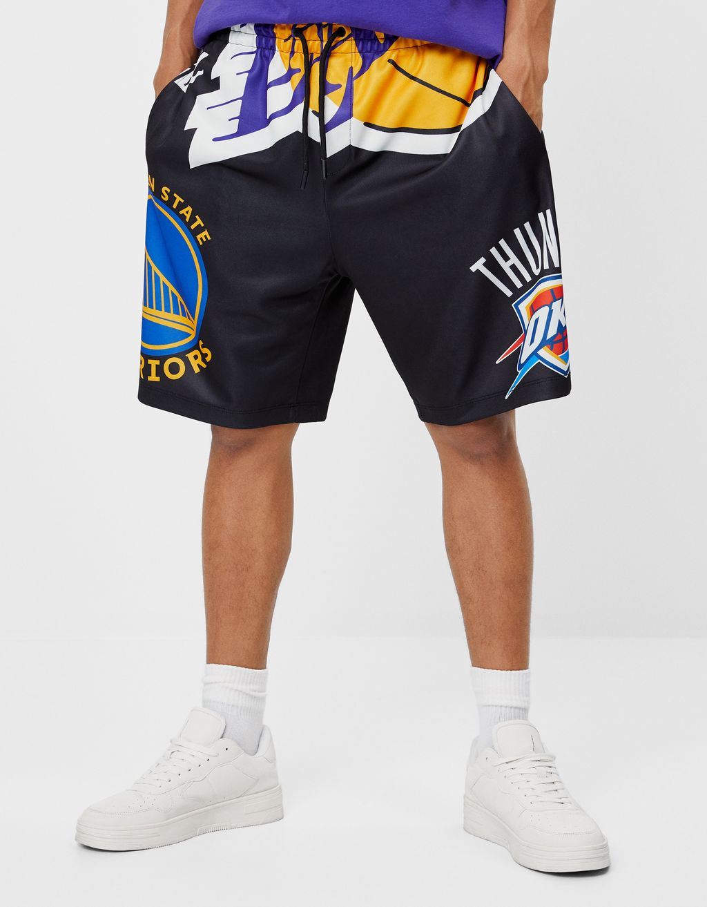 NBA Bermuda jogging shorts