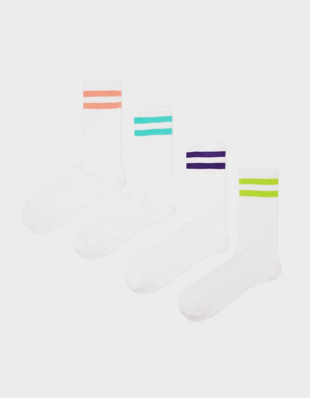 Pack de calcetines con rayas