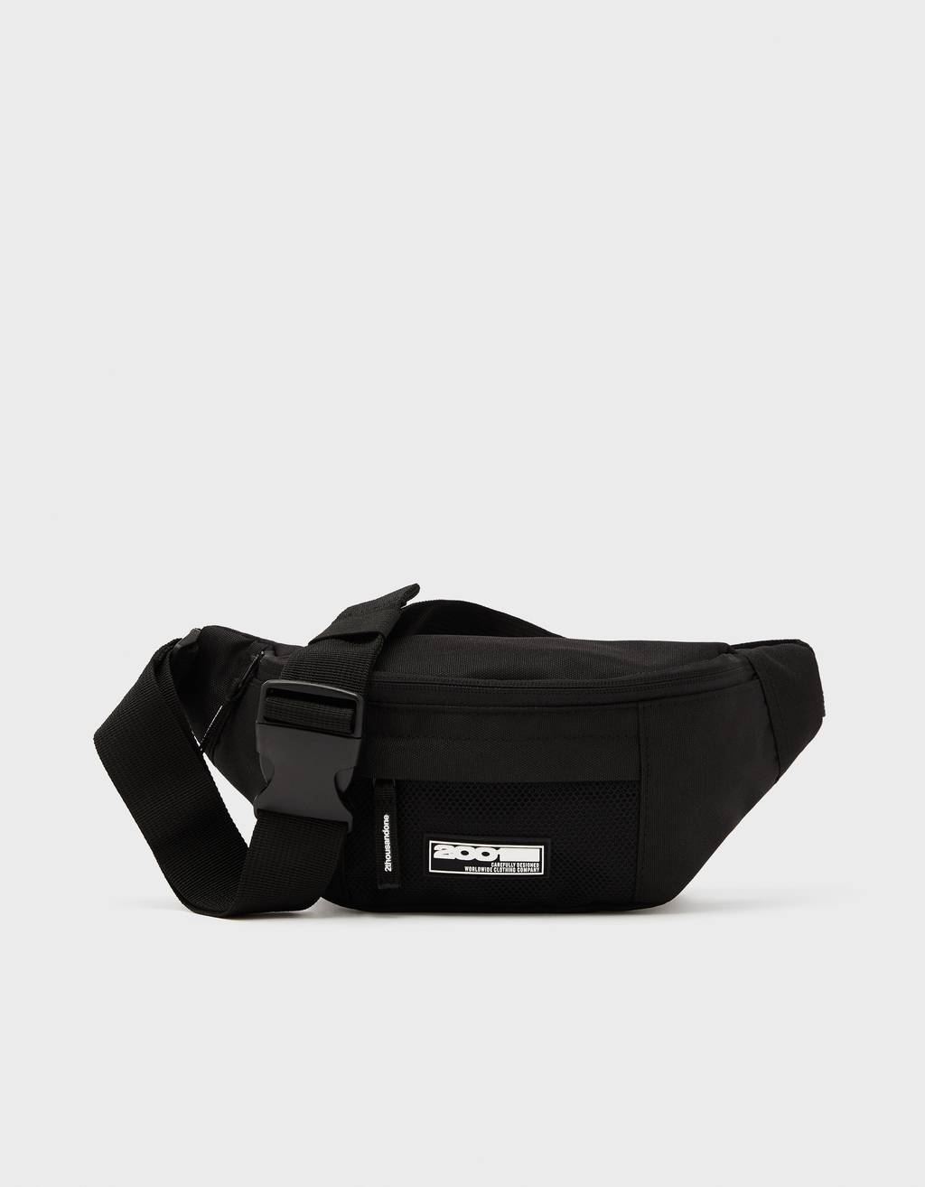 Fanny pack with slogan