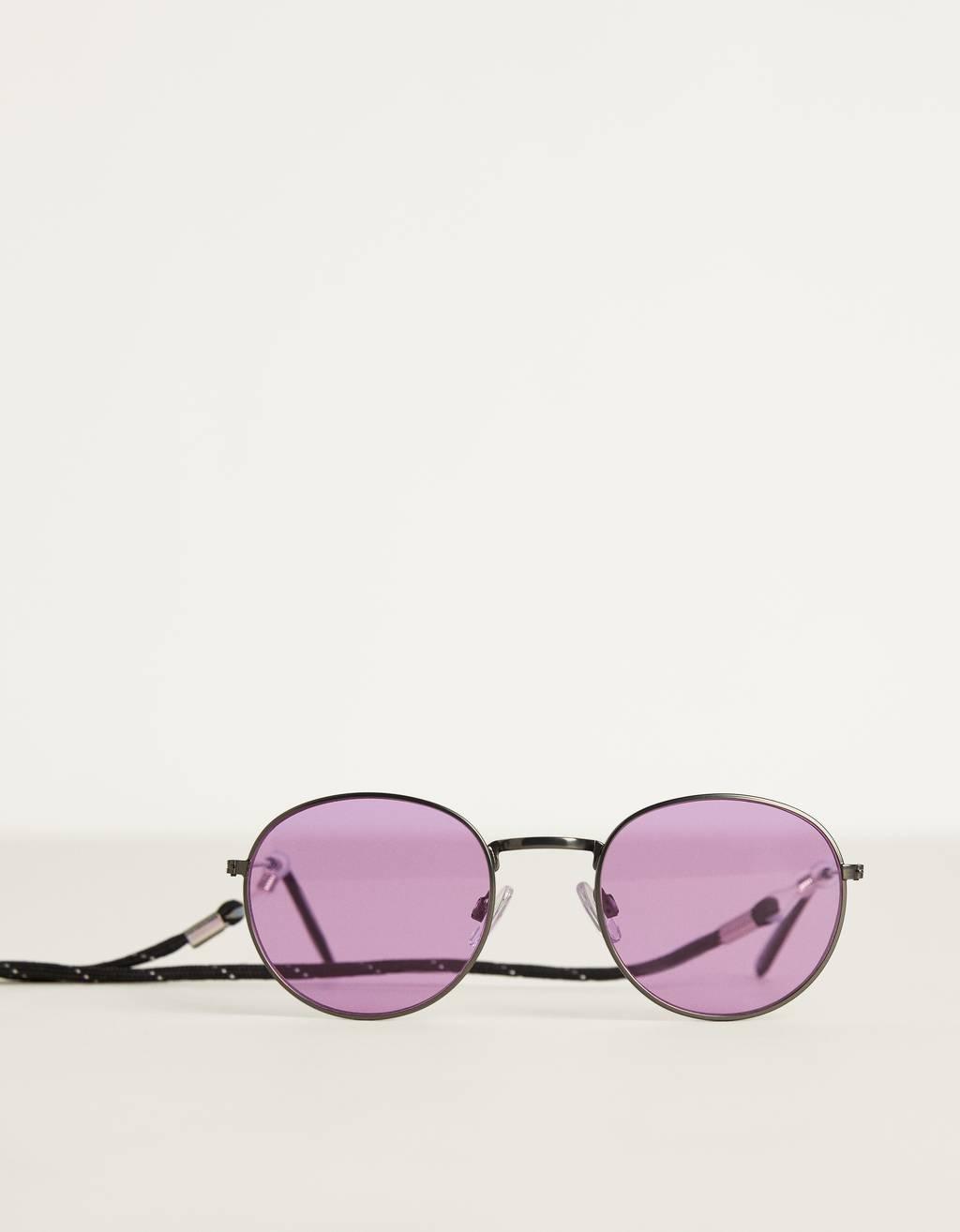Runda solglasögon