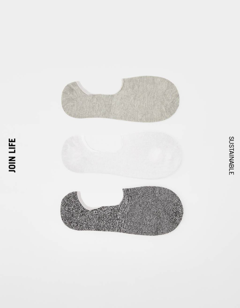 Pack de calcetines invisibles