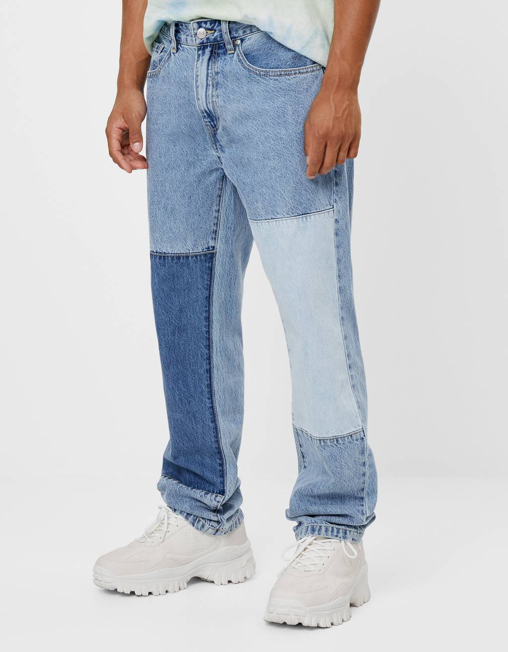 '90s contrast jeans