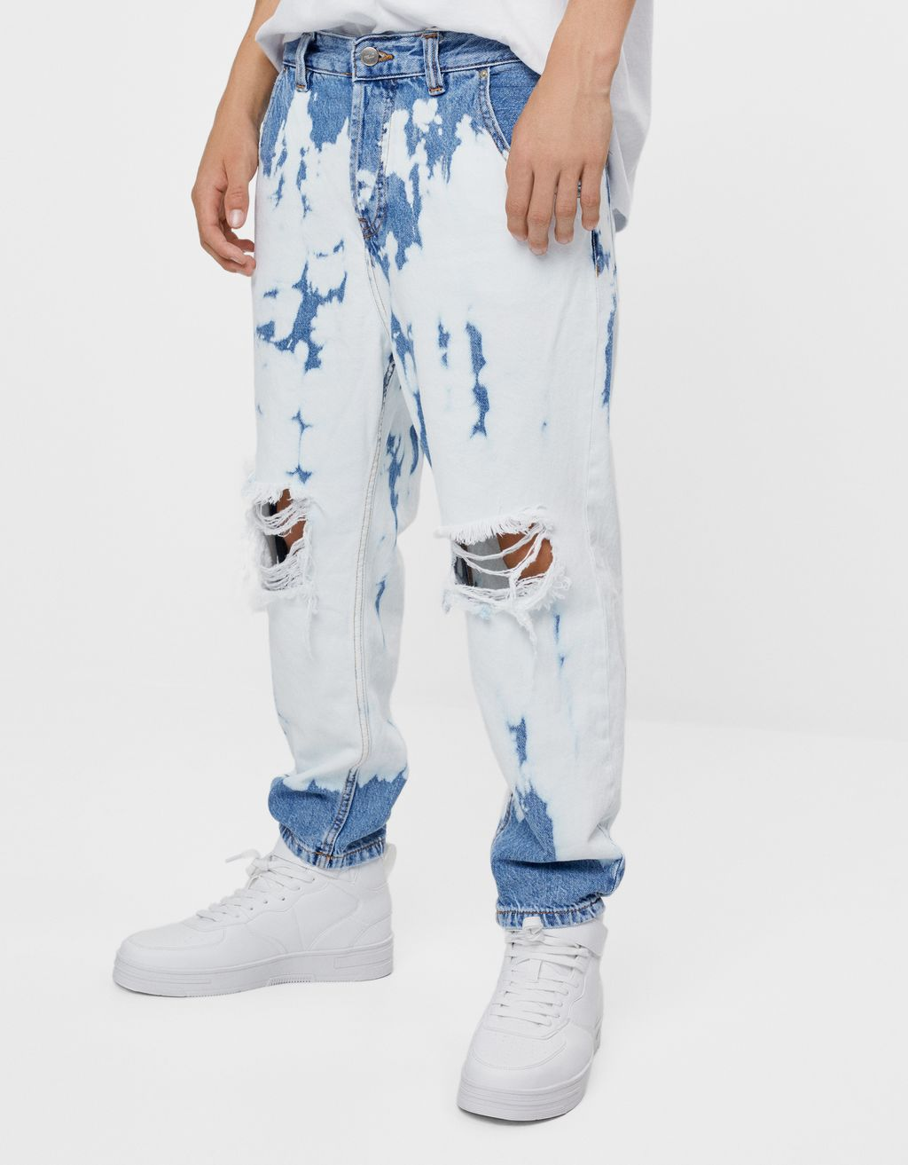 Jeans im Washed-Look