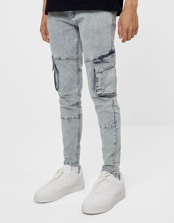 Pantalón Super Skinny cargo