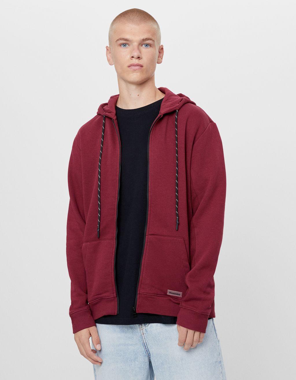 Plush hooded jacket - Sale Favourites - Man