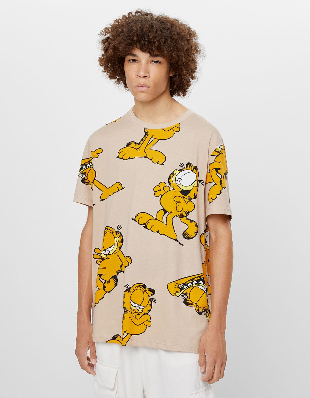 Shirt Garfield & Bershka