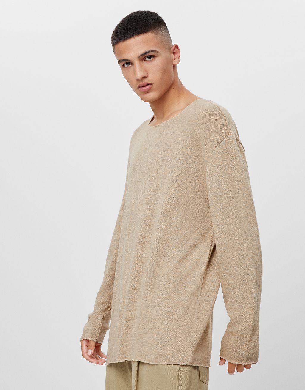 Пуловер с дълъг ръкав