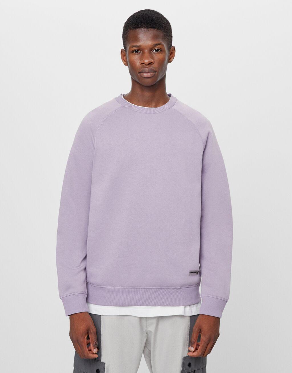 Sweatshirt mit Rundausschnitt