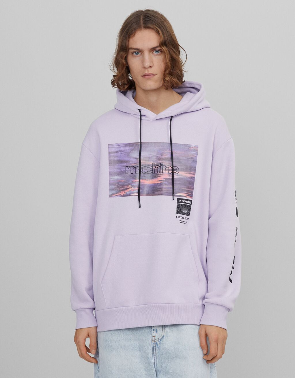 Photo print hoodie