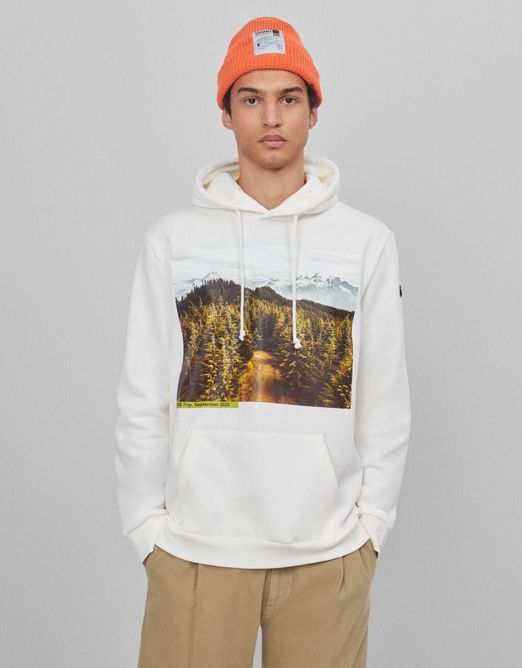 Sweatshirt mit Print - Sale-Favoriten - Herren