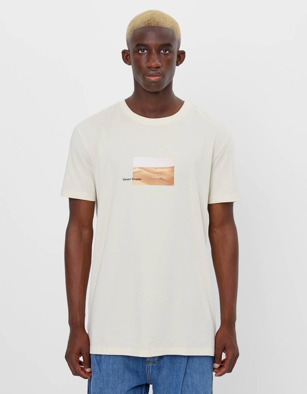 T-shirt imprimé manches courtes