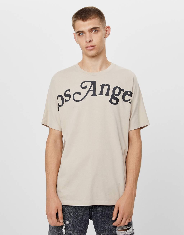 T-shirt with LA print
