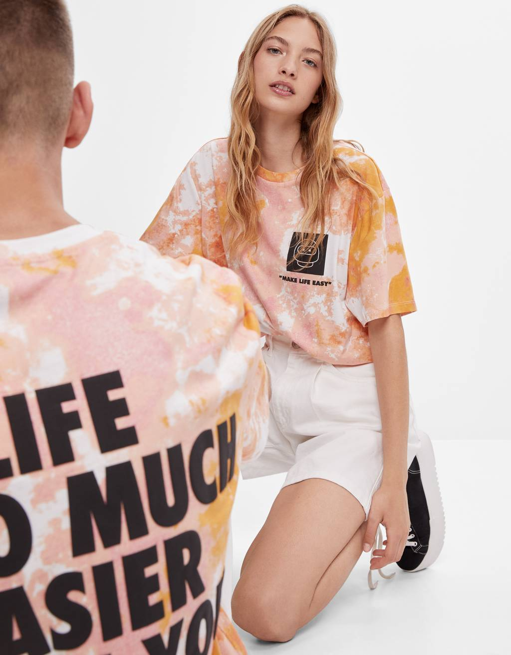 Camiseta FUTURE-READY tie dye