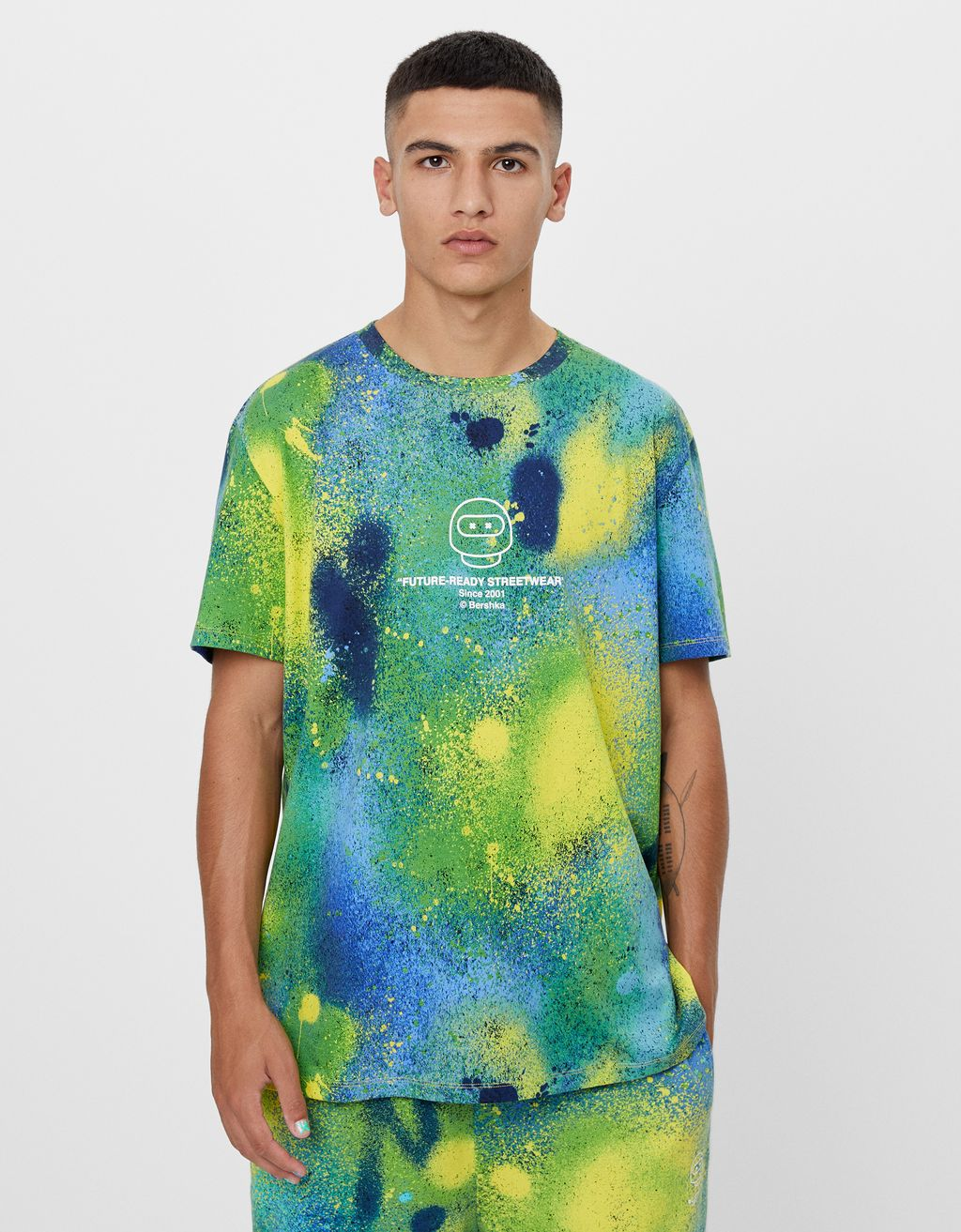 Camiseta FUTURE-READY pintura