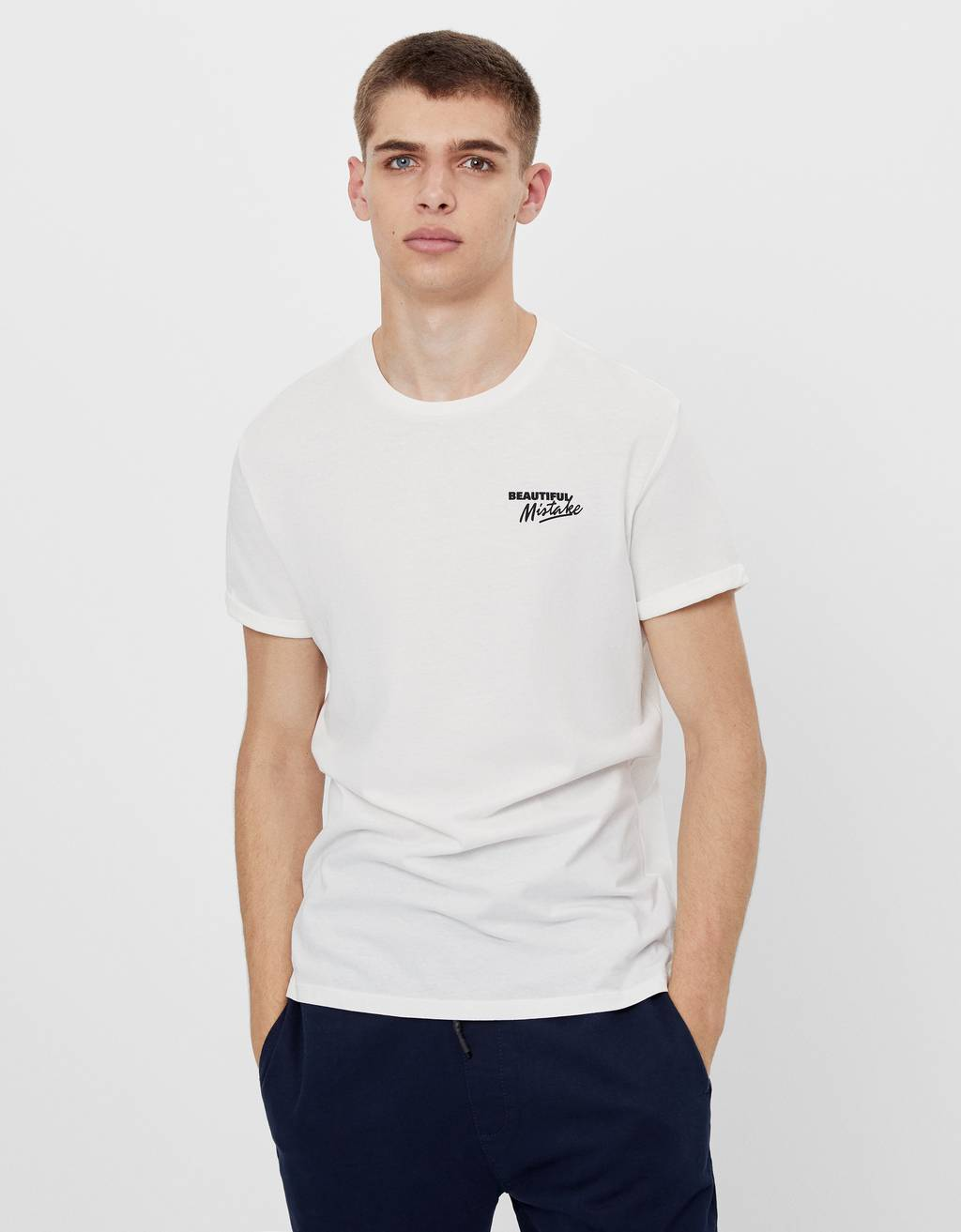 T-shirt muscle fit