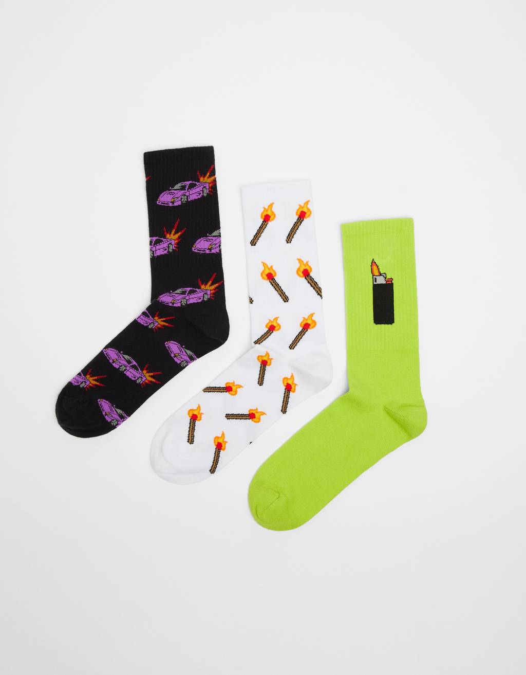 Pack of '80s socks