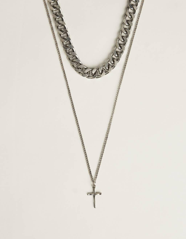 Retiazkový náhrdelník s krížikom