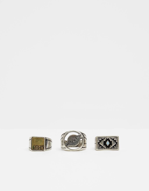 Súprava gravírovaných prsteňov