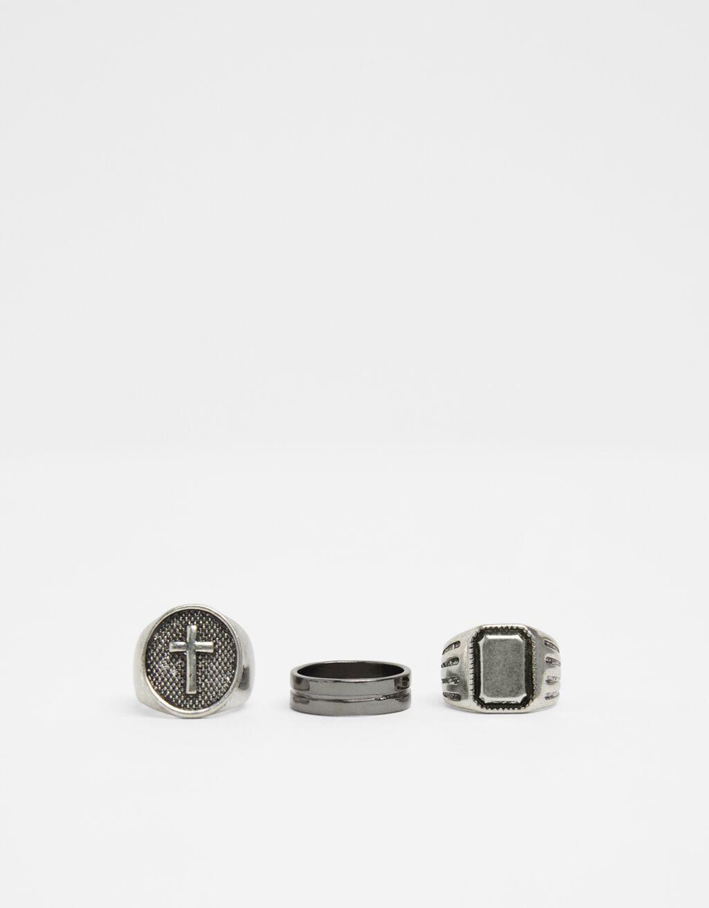 Set of signet rings