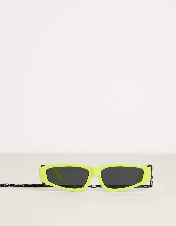 Neonszínű napszemüveg