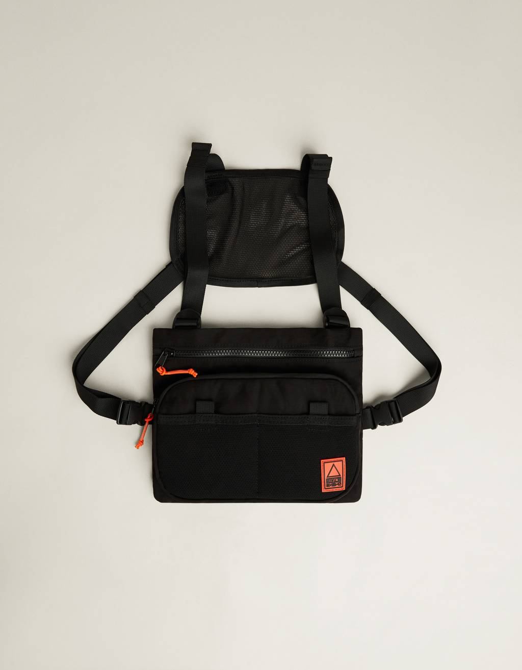 Riñonera tipo chest bag