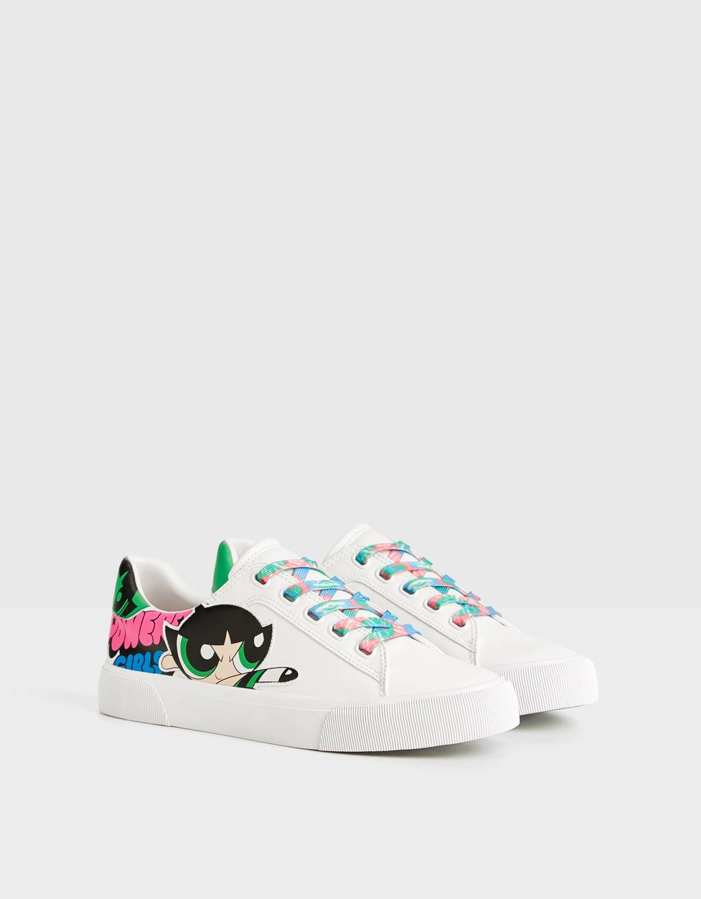 The Powerpuff Girls x Bershka trainers
