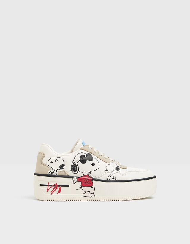 Snoopy platform sneakers - Shoes